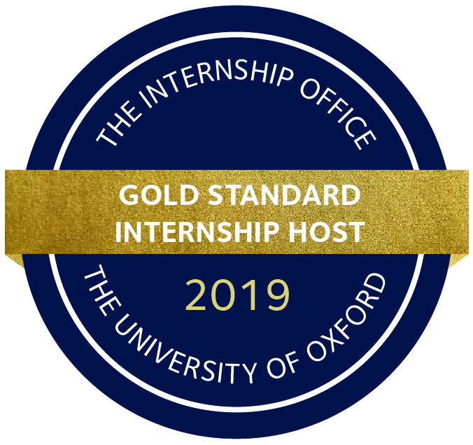 CCST recebe selo Gold Standard Internship Host da Universidade de Oxford